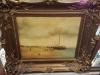 schilderij aan zee